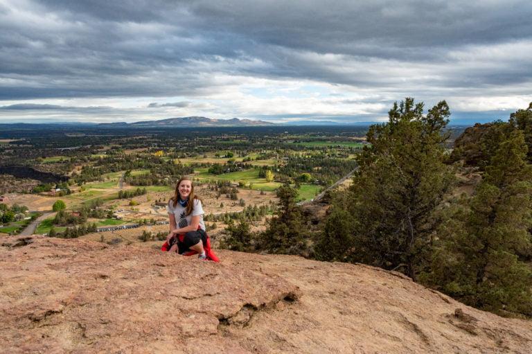 valley views from misery ridge summit