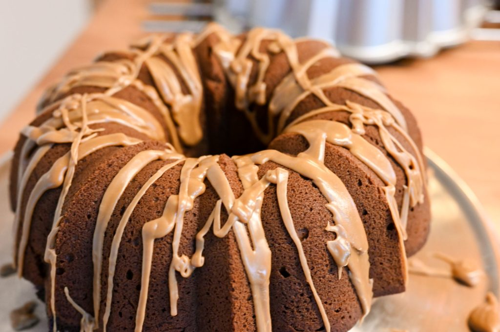 coffee and cream Bundt cake
