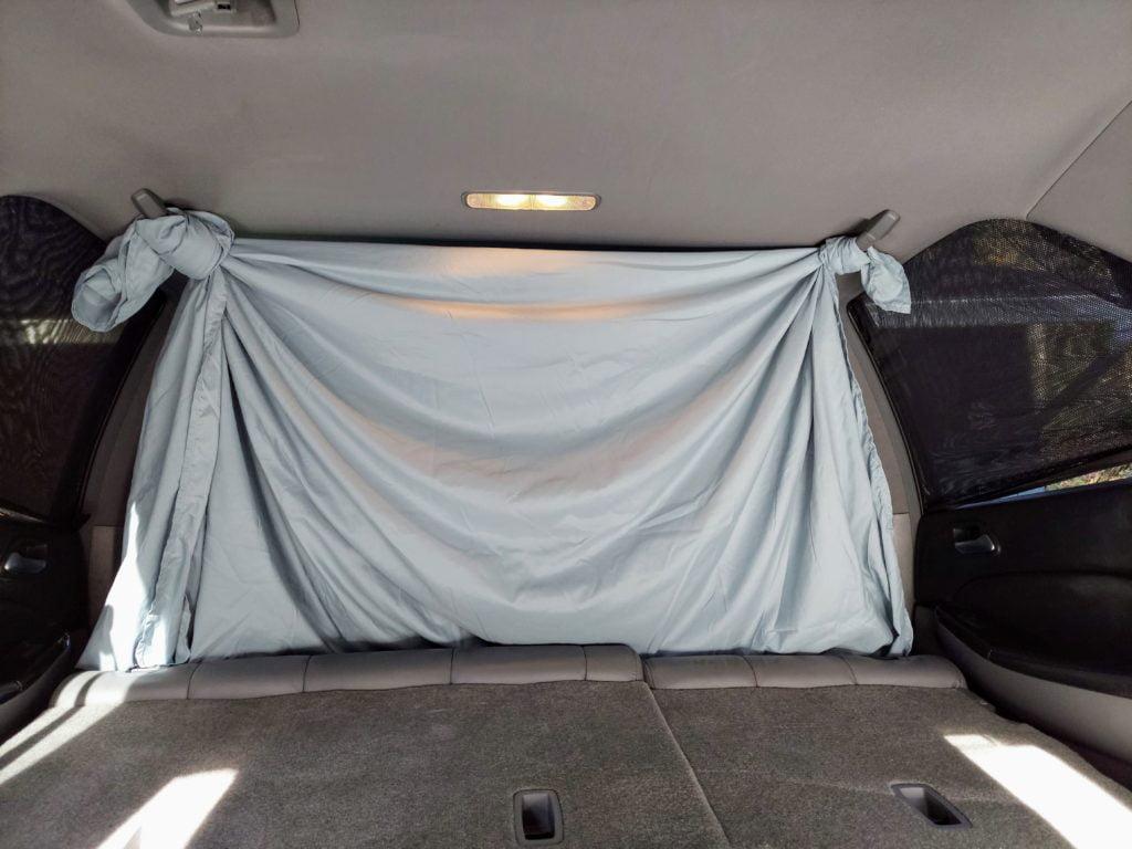 sheet and side bug window covers