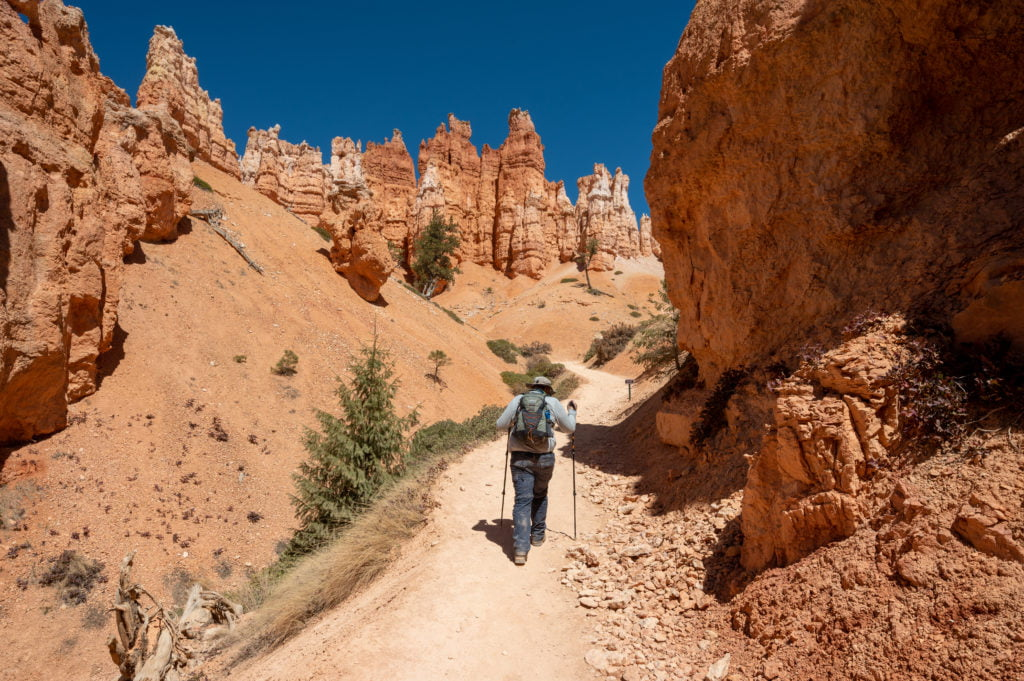More hoodoos in Bryce Canyon National Park.
