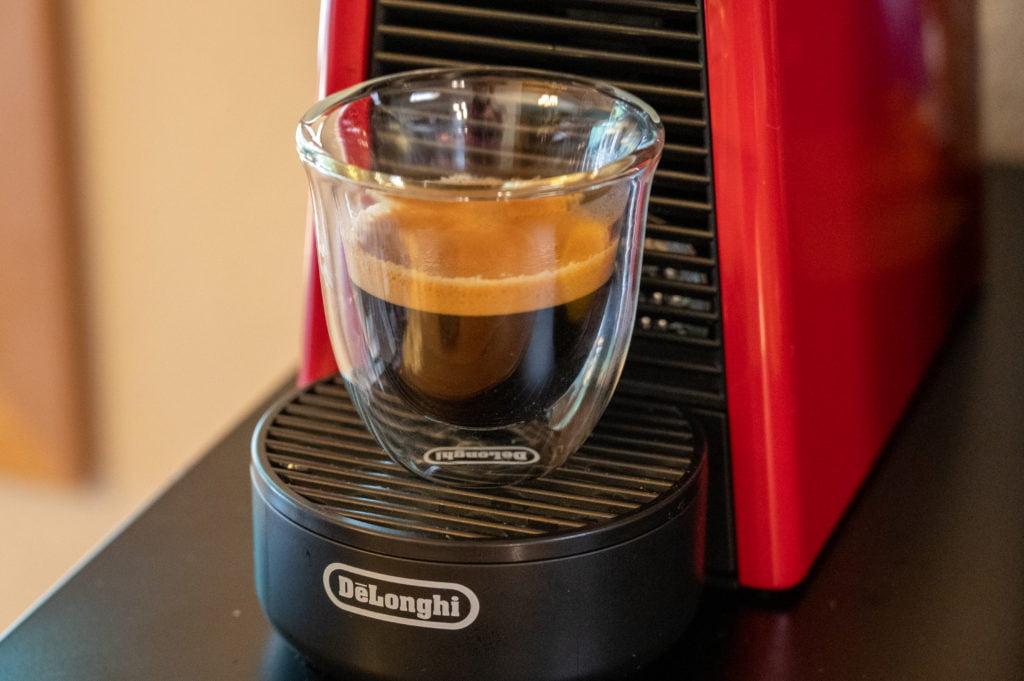 Nespresso espresso shot