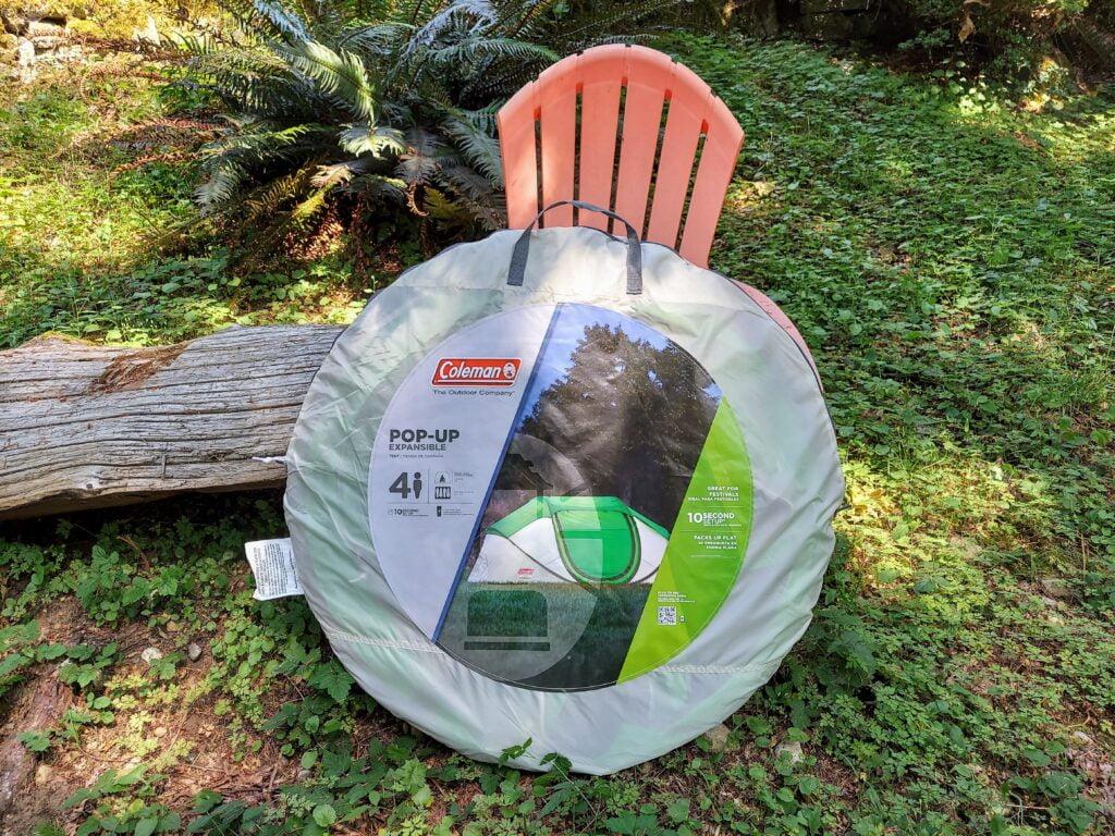 Coleman 4-Person Pop-up Tent Disc