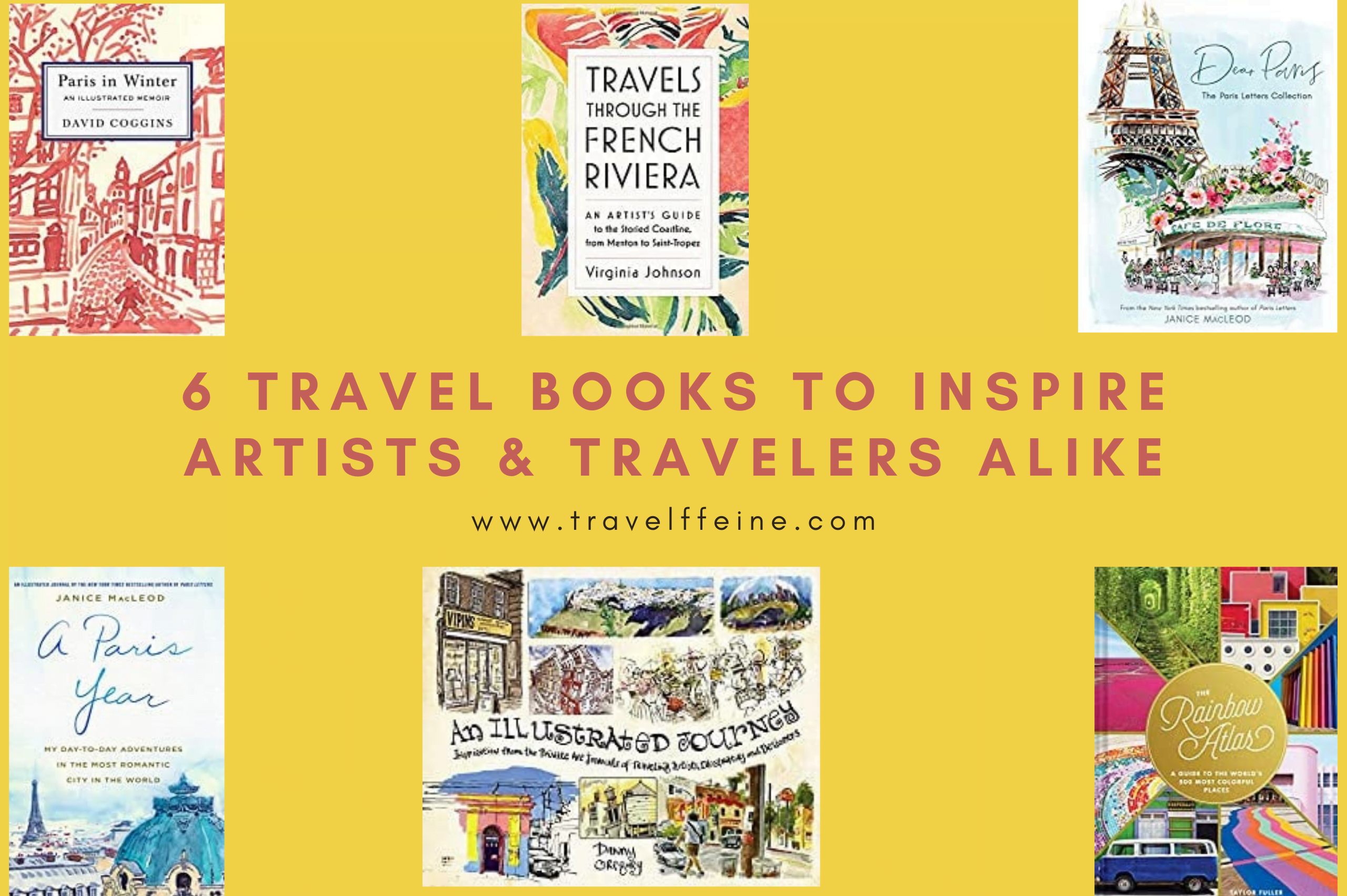 Images of Travel Books for Artists