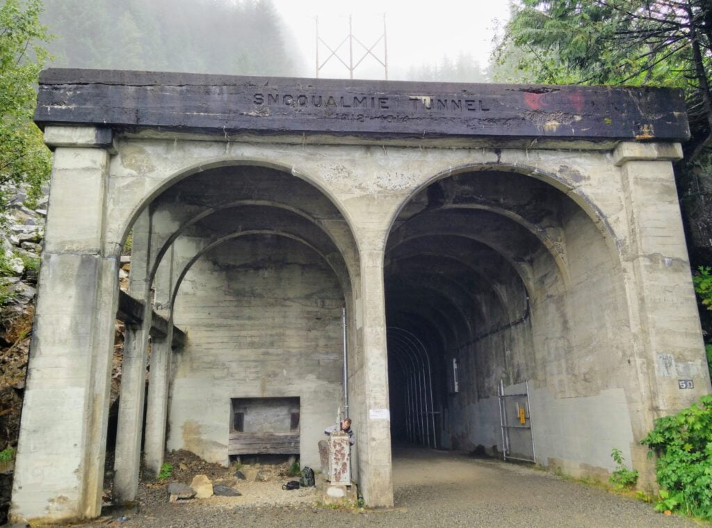 Snoqualmie Tunnel Exit Other side