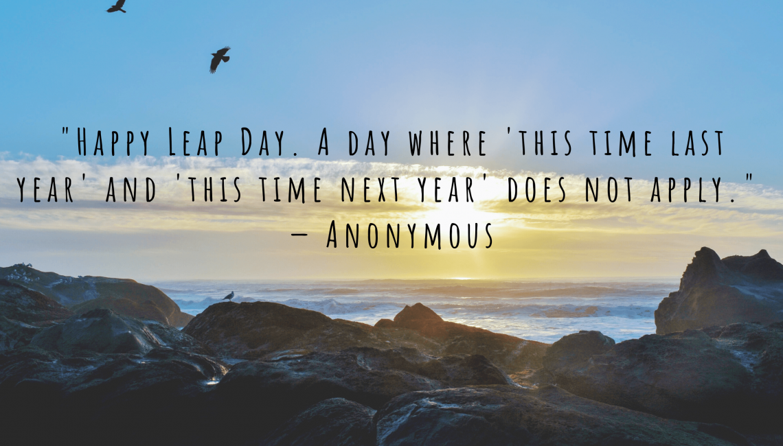 leap day quote